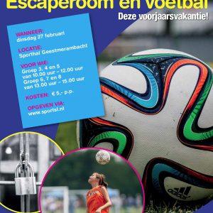Sportieve Escaperoom En Voetbal